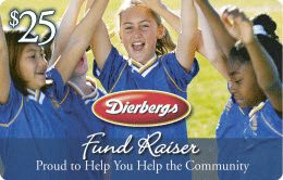 Dierbergs Fundraiser Grocery Card