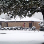 Snow at Trinity UMC Duncanville